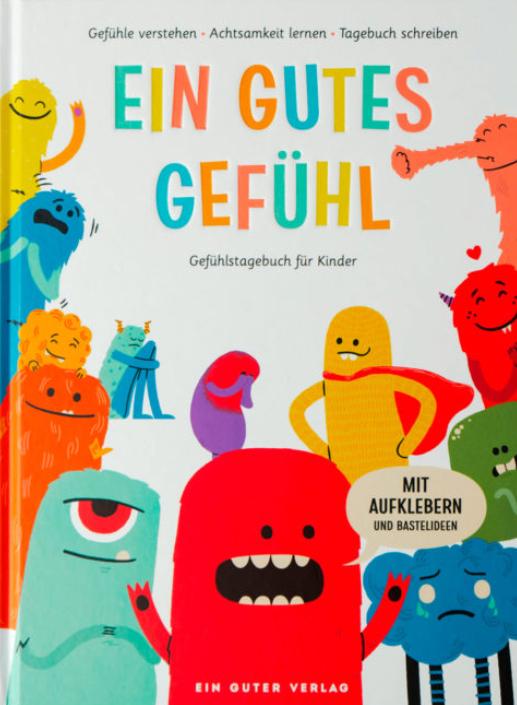 """Titelbild des Buches """"Ein gutes Gefühl"""" von dem Verlag, der auch das Buch """"Ein guter Plan"""" verkauft"""